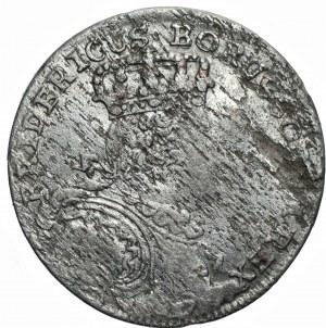 Prusy - Fryderyk II Wielki - Szóstak 1757 - Wrocław (B)