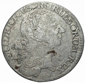 NIEMCY - Prusy - Fryderyk II (1740-1786) - 1/12 talara 1766 - Wrocław (B)