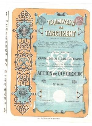 Tramways de Taschkent 1897