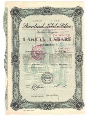 STANDARD NOBEL w Polsce S.A. - Em. V - 1 x 100 złotych 1936