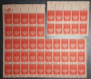 ŚWIAT - 23 arkusze filatelistyczne - Polska, USA, ZSSR oraz inne