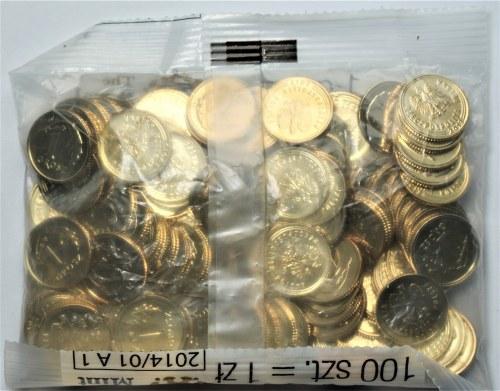 III RP - Woreczek menniczy 1 grosz 2013 - Royal Mint