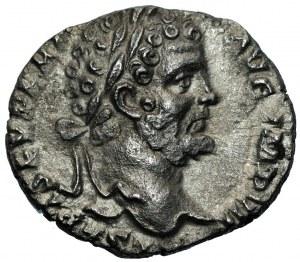 Cesarstwo Rzymskie - Septymiusz Sewer (193-211) - Denar 195-196, Rzym