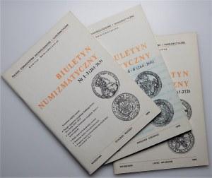 Biuletyn Numizmatyczny - komplet 1990