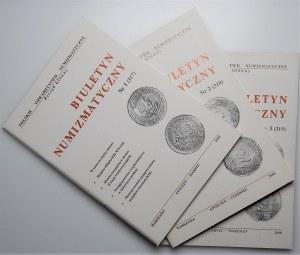 Biuletyn Numizmatyczny - 2000 - 3 egzemplarze
