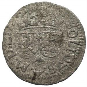 Zygmunt III Waza (1587-1632) - Szeląg litewski 1615 z błędem, Wilno - Kolekcja Górecki