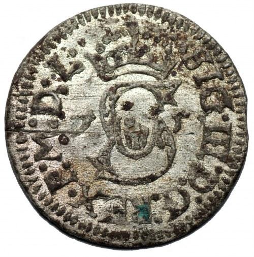 Zygmunt III Waza (1587-1632) - Szeląg litewski 1615, Wilno - Kolekcja Górecki