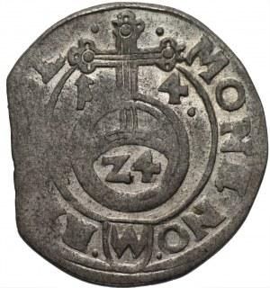 Zygmunt III Waza (1587-1632) - Półtorak 1614 kropki przy dacie, Bydgoszcz - Kolekcja Górecki