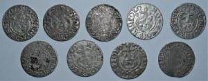 Zestaw 9 półtoraków z lat 1620-1625
