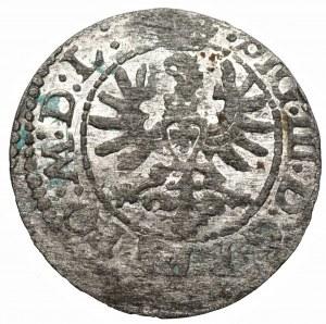 Zygmunt III Waza (1587-1632) - Szeląg typu orzeł/pogoń 1623 skrócona data