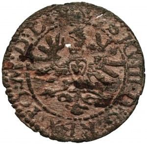 Zygmunt III Waza (1587-1632) - Szeląg Wilno Orzeł/Pogoń 1623 RL - Kolekcja Górecki
