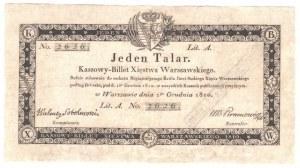 1 talar 1810 - Sobolewski - niski numer seryjny 2626