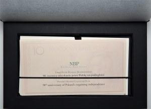 WZÓR/SPECIMEN zestaw 5 sztuk banknotów kolekcjonerskich (2006-2010) - Jan Paweł II, Józef Piłsudski, Fryderyk Chopin, Juliusz Słowacki, Maria Skłodowska - Curie