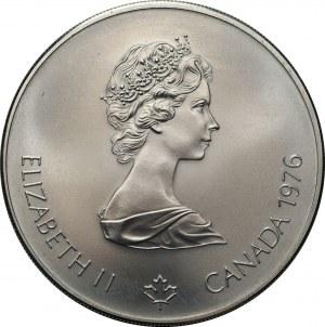 Zestaw 4 srebrnych monet - Polska, Kanada, Rosja, Niemcy