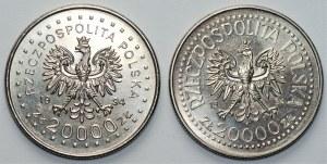 2 x 20 000 złotych 1994 -
