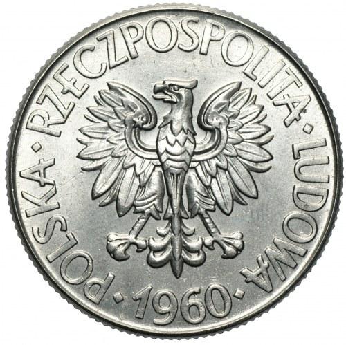PRÓBA NIKIEL - 10 złotych 1960 Kościuszko - popiersie