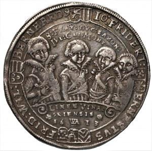 NIEMCY - Saksonia, Johann Ernst i jego siedmiu braci - Talar 1613