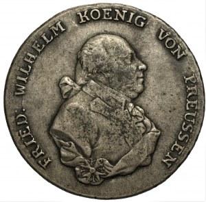 NIEMCY Brandenburgia - Prusy Fryderyk Wilhelm II (1786-1797) - Talar 1791 A