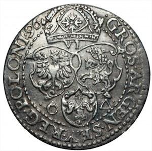 Zygmunt III Waza (1587-1632) - Szóstak 1596 Malbork - SEV zamiast SEX