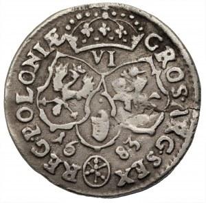 Jan III Sobieski (1674-1696) - Szóstak 1683 Bydgoszcz TLB