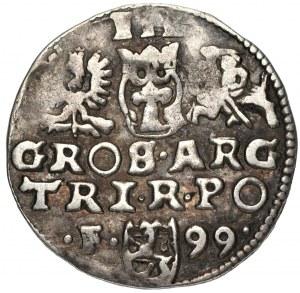 Zygmunt III Waza (1587-1632) - Trojak 1599 Wschowa