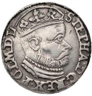 Stefan Batory (1576-1586) - Trojak 1585 Olkusz - (GH) Georg Hose