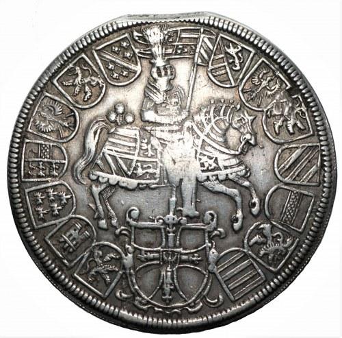 AUSTRIA - Maksymilian III Habsburg (1590-1618) - Dwutalar 1614, mennica Hall