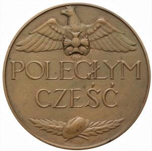 II RP - medal z 1920 r., - Poległym Cześć 1918-1920 Warszawa