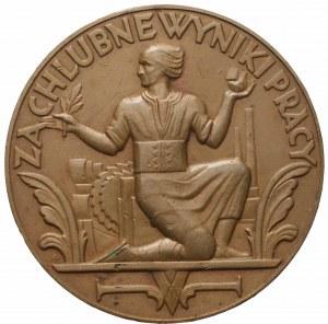 Medal za chlubne wyniki pracy - autor nieznany 1926 rok