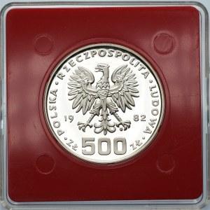 PRÓBA - 500 złotych 1982 - Dar Młodzieży
