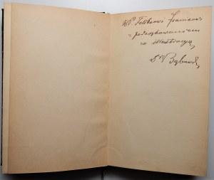 Klemens Bąkowski - Kronika Krakowa z lat 1918-1923 wraz z podziękowaniem i autografem autora