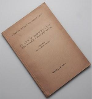 Marian Haisig - Śląsk w monetach i pieczęciach 1951 wraz z dedykacją od autora