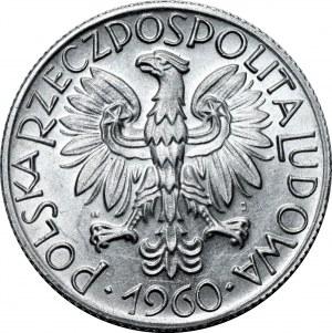 PRL - 5 złotych 1960 - Rybak