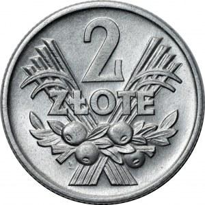 PRL - 2 złote 1959 - Jagody - menniczy egzemplarz