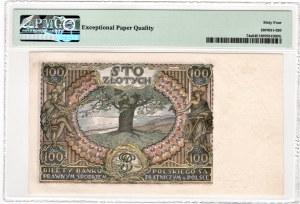100 złotych 1934- seria AW - PMG 64 EPQ