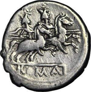 Republika Rzymska, Denar anonimowy 179-170 r. p.n.e.