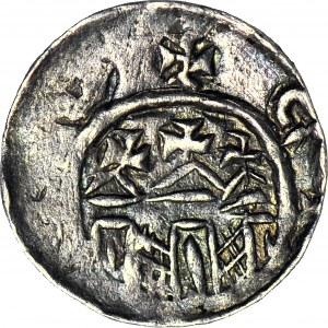 Władysław I Herman 1081-1102, Denar Kraków, pierwsza emisja - późny typ