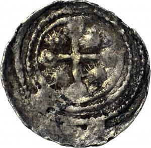 Bolesław III Krzywousty 1107-1138, Denar, walka ze smokiem