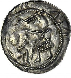 Władysław II Wygnaniec 1138-1146, Denar, orzeł i zając