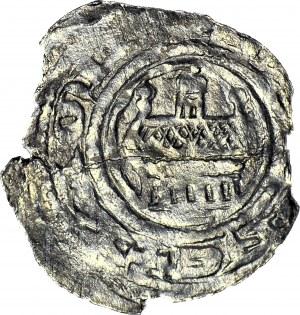 RRR-, Denar bity 1187-1191 przez biskupa kamieńskiego Zygfryda I, R8 (znane 3 szt. z czego 3 w muzeum)
