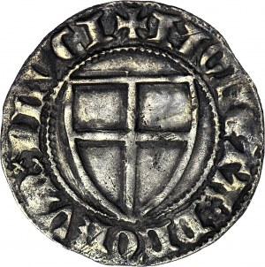 R-, Zakon Krzyżacki, Winrych von Kniprode 1351-1382, Szeląg, MAGIST, rzadki