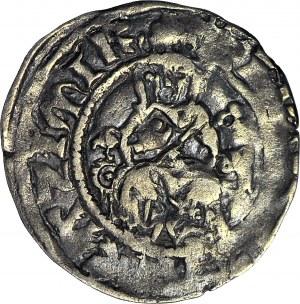 R-, Kazimierz III Wielki, Kwartnik duży (Półgrosz) Kraków, R4