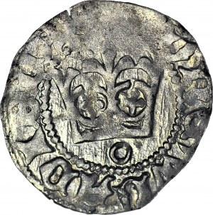Władysław II Jagiełło, Półgrosz 1410-1412, typ XVI, znak O