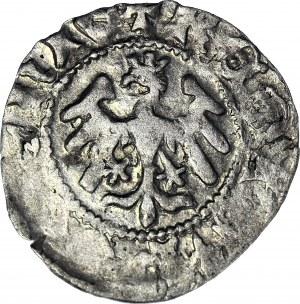 RR-, Władysław II Jagiełło, Półgrosz 1410-1412, typ XVI.1.3 BR, znak O