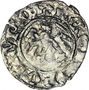 Władysław II Jagiełło, Półgrosz 1412-1414, typ XVII, znak F‡