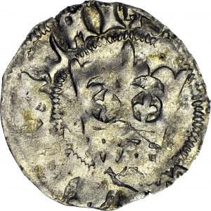 Władysław II Jagiełło, Półgrosz 1413-1414, typ XIX.1.1 MP, znak W‡