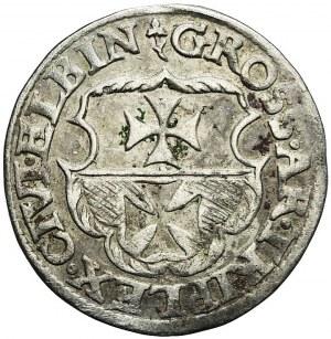 Zygmunt I Stary, Trojak 1540, Elbląg, R2