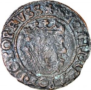 R-, Zygmunt I Stary, Grosz Gdańsk bez daty, falsyfikat z epoki, rzadki