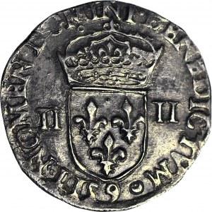 Henryk Walezy, Król Polski, 1/4 Ecu 1581