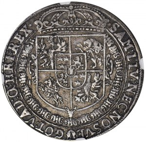R-, Zygmunt III Waza, Talar 1627, Bydgoszcz, rzadki